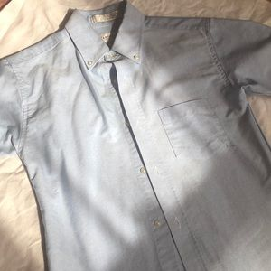 Boys short sleeve dress shirt